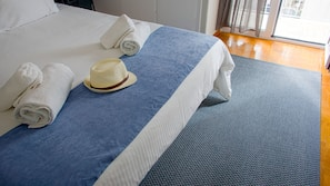 Premium bedding, soundproofing, free WiFi, bed sheets