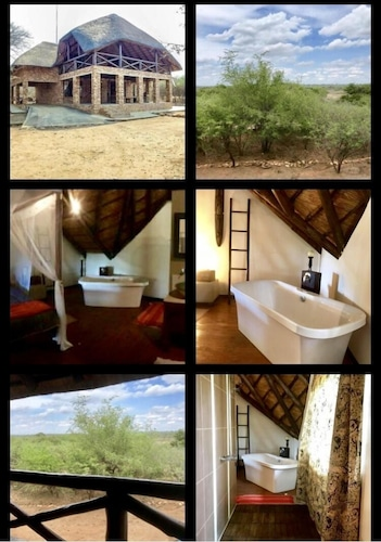 Rhinos Rest Perfectly Situated Overlooking the Croc River and Kruger Park