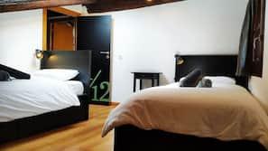 Individuell inredning, unika möbler, gratis wi-fi och sängkläder