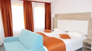 방음 설비, 간이 침대, 무료 WiFi, 침대 시트