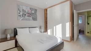 2 間臥室、高級寢具、熨斗/熨衫板、免費 Wi-Fi