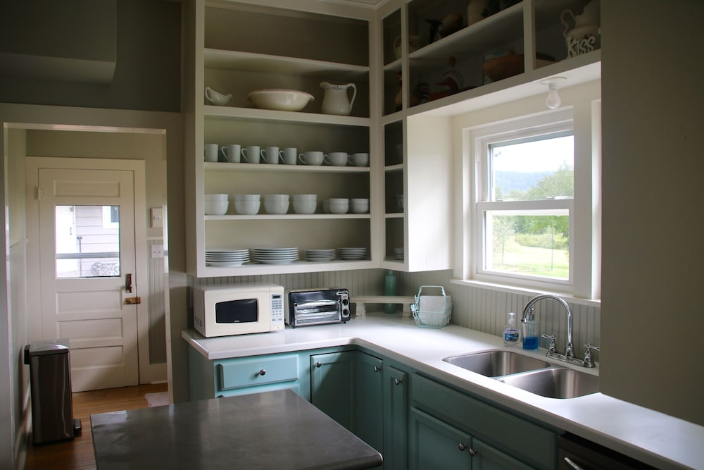 Private Kitchen, Secluded, Lake Front, Easy Access, 180 View - The Farm House on Beaver Lake