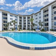 NEW Listing! Updated Condo w/ Full Kitchen, Balcony, & Shared Pool - Near Beach!