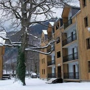 Apartment With 2 Bedrooms in Bagnères-de-luchon, With Wonderful Mountain View, Balcony and Wifi - 300 m From the Slopes