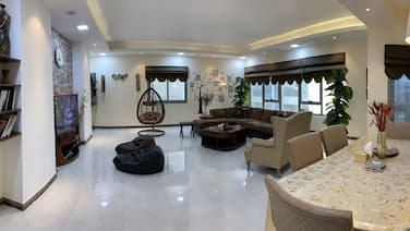 Luxury Furnished 3BR near LAKE Khalid