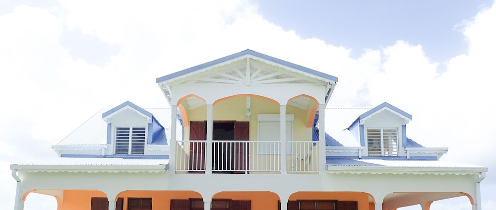 Front of Property, Marie Galante Vacance