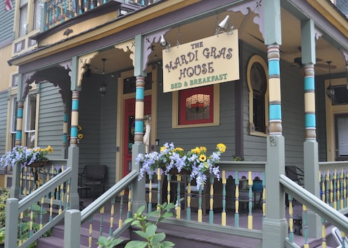 The Mardi Gras House