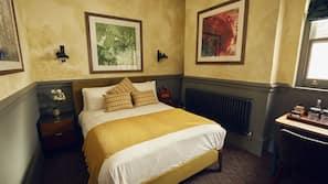 Premium bedding, pillow-top beds, blackout curtains, iron/ironing board