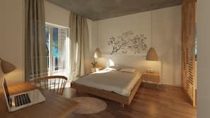 Minibar, individually furnished, iron/ironing board, free WiFi