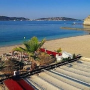 Vacation Large Apartment Mourillon 52 m2 Feet in the Water Close to Shops