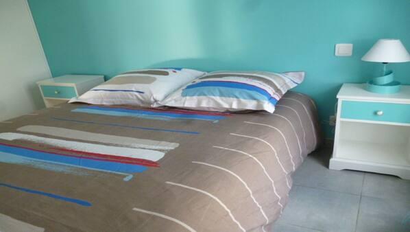 2 sovrum, strykjärn/strykbräda och internet
