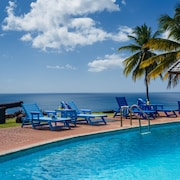 St. Lucia Private Oceanfront Secluded Villa With Pool/full Staff Including Chef