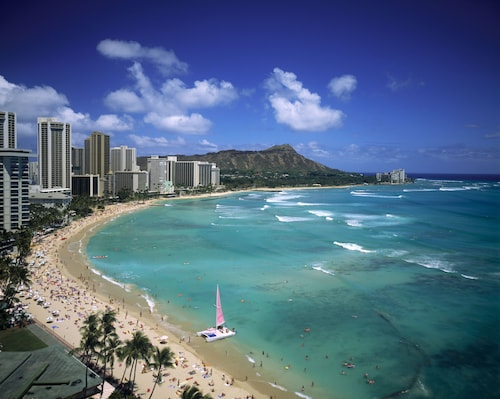 Spacious 30th Flr. With Stunning Oceanview Waikiki Studio A,