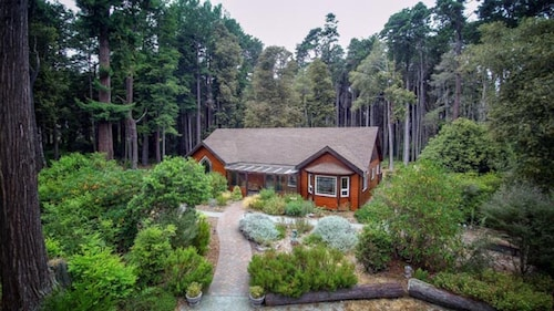 5 Acres of Peaceful Forest Retreat Minutes From The Beach And Town