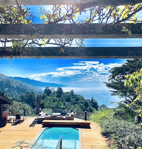 Beautiful Big Sur With Pool/spa, Close in Location to all Big Sur has to Offer