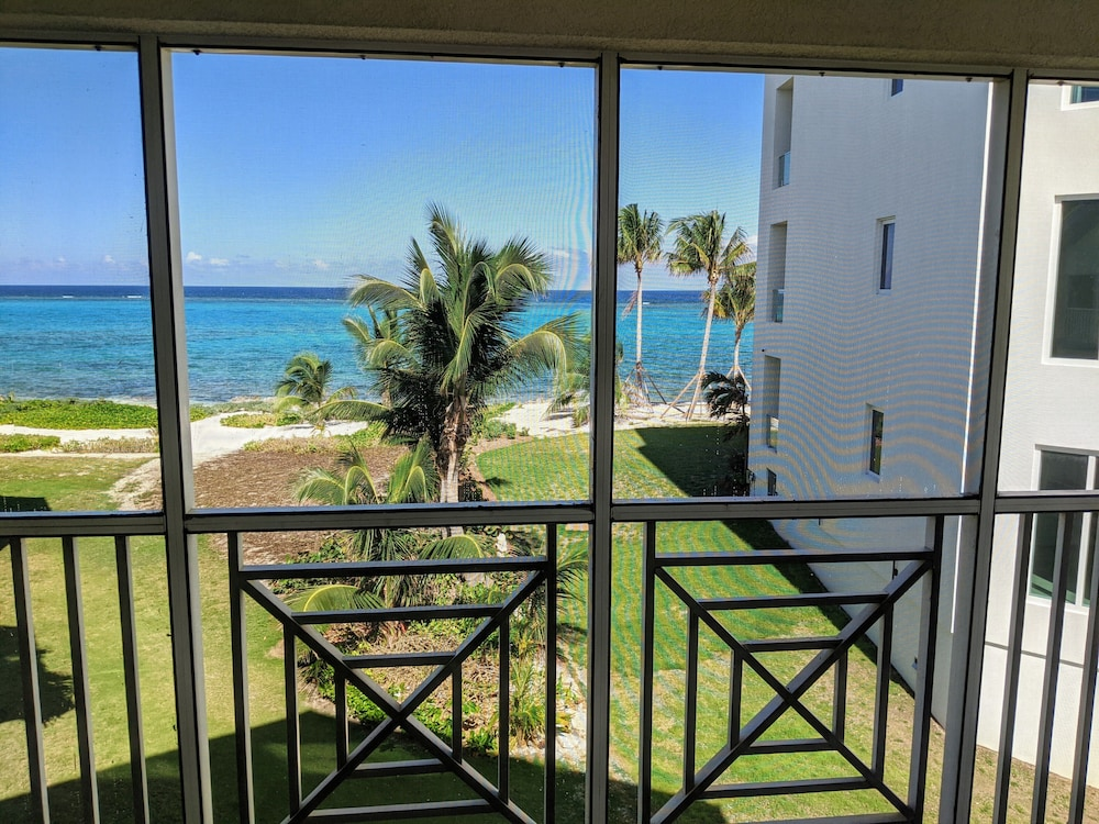 Balcony, Rum and Kai - Beach Front 1 Bedroom - Rum Point, Grand Cayman