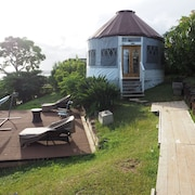 Yurt Lodging in Aiea/pearl Harbor! Central, Convenient & Quiet! Lots of Extras!