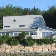 Spectacular Panoramic Views of Acadia From Oceanfront 4BR Home