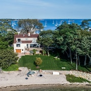 Exclusive Family Friendly Waterfront Property With Two Private Sandy Beaches