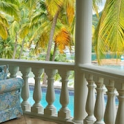 Marigot Bay Rose Cottage With Bay Views