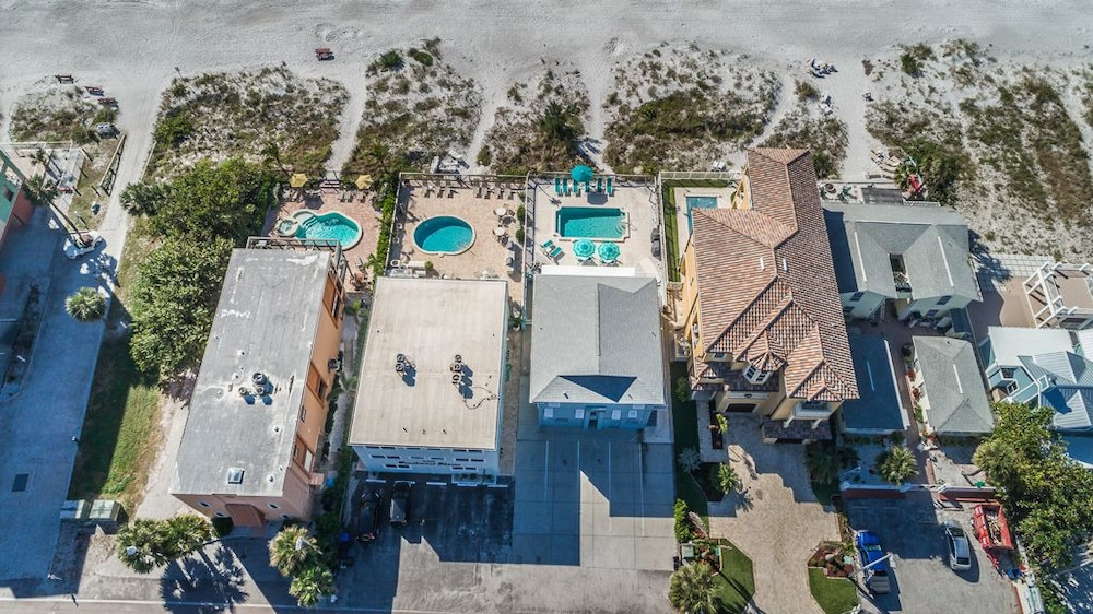 Aerial View, The New Hotel Indian Shores