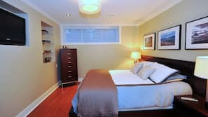 1 bedroom, Egyptian cotton sheets, iron/ironing board, WiFi