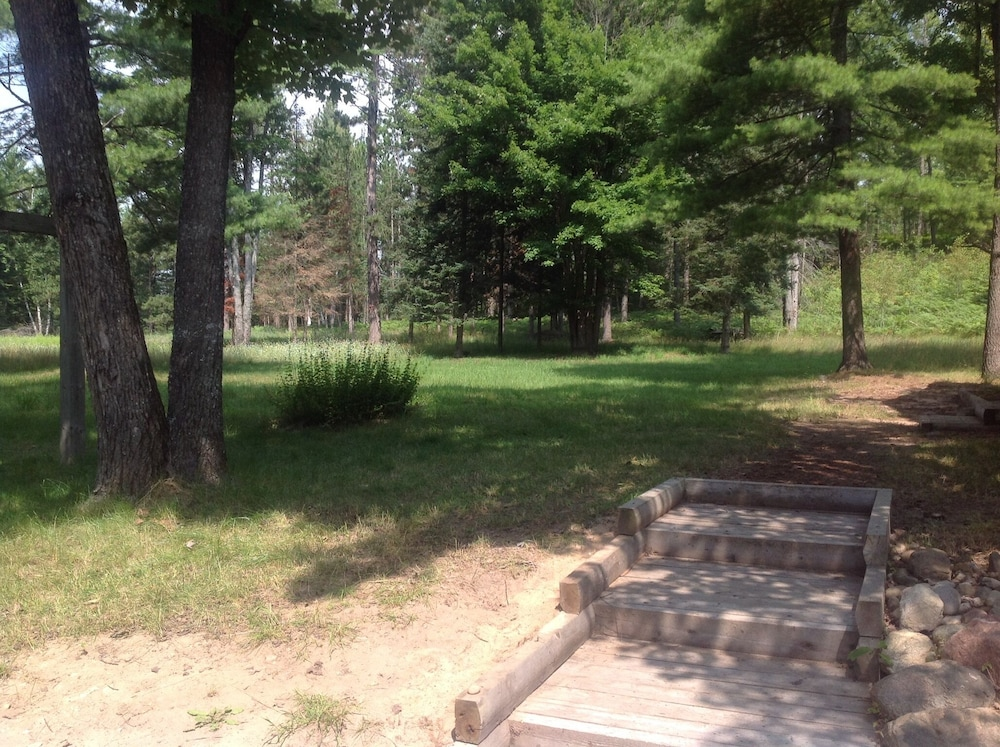Property Grounds, Rustic Up North Cabin Minutes From The Au Sable River