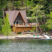 Idaho Lakefront Rocky MTN Cabin,fly Fishing, Raft Salmon River,great Hiking
