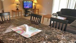 LCD TV, DVD player