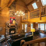 Unique, Secluded, Luxury Log Cabin in the Gold Country W/ev Charger