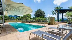 A lap pool