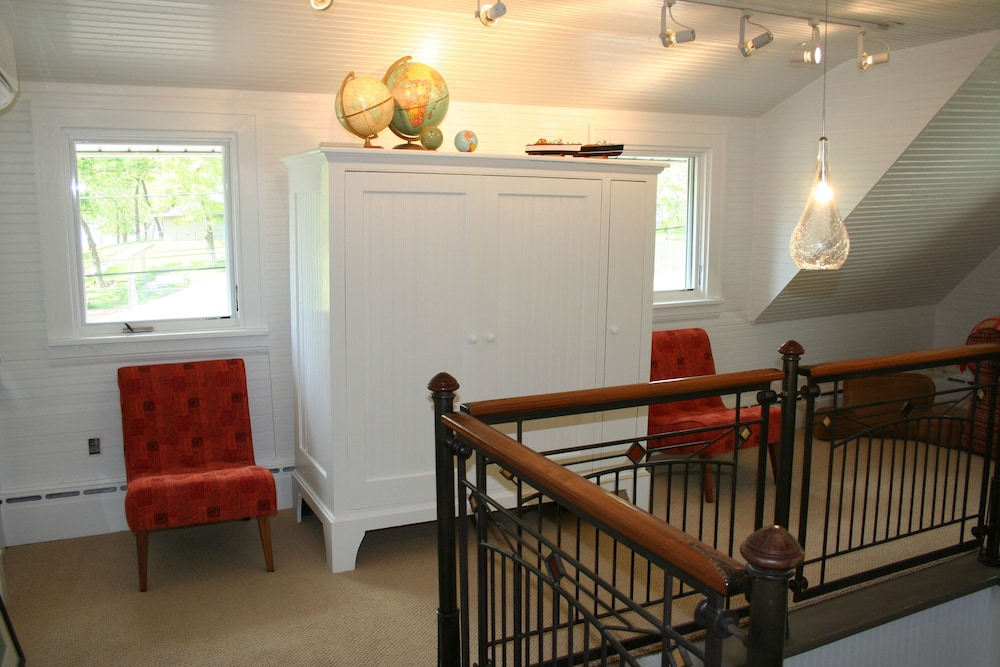 Interior, Charming Bead-board Cottage in Historic Excelsior on Lake Minnetonka
