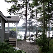 Private, Peaceful, Waterfront Home on Bass Harbor, Kayaks Provided