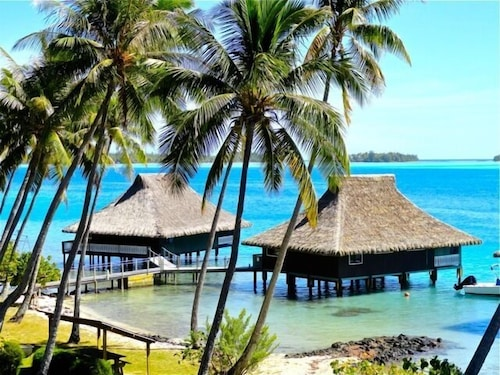 Bungalow Two - Marlon's World Famous Over Water Hideaway in Bora Bora!