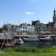 Studio Havenzicht on top Location in the Historic Town of Veere