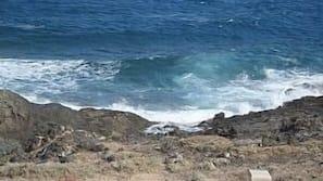 Tæt på stranden, liggestole