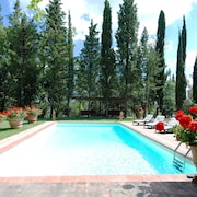 Villa - Privatepool, Fenced Garden 6000m², 3rooms 8-people, Chianti-wine-relax