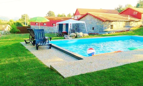 Country House Near From Porto, and Guimaraes, Braga. With Swimming Pool