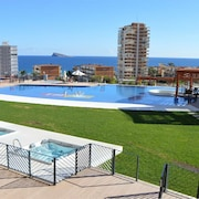 Apartment With Fantastic Views TO THE Beach TO THE SEA AND TO THE Residential Complex