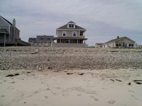 Huge House Right on the Ocean on Humarock Beach