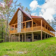 Upscale 4 Bedroom pet Friendly Lodge With Shared Pond Close to Cantwell Cliffs