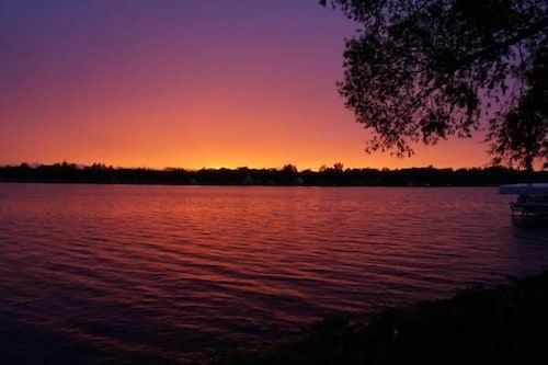 Enjoy A Breath Taking Panoramic View Of Wixom Lake Offering 4 Seasons Of Fun