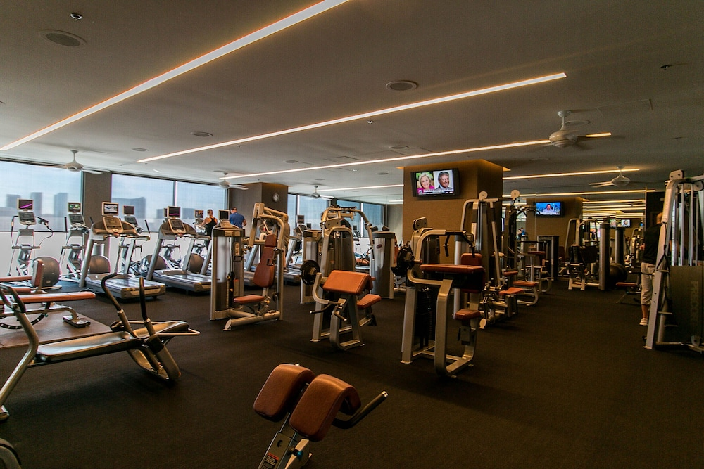 Fitness Facility, Dream Penthouse 500 Feet IN THE AIR