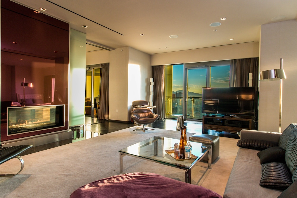 Living Room, Dream Penthouse 500 Feet IN THE AIR