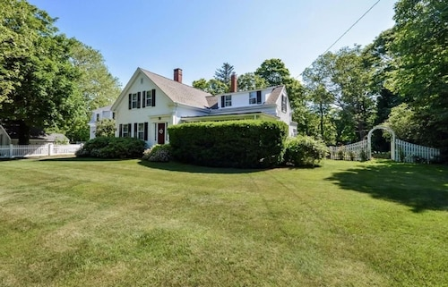 Historic Village Home With Water View - Walk to Beach, Baseball and Everything!