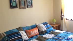 2 bedrooms, in-room safe, WiFi, linens