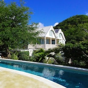 Spacious Home Overlooking English Harbour With Huge Outside Living Space + Pool