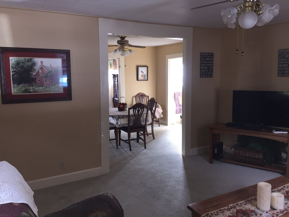 Living Room, Quaint Farm House On A Private One Acre Lot