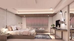 特厚豪華床墊、房內夾萬、窗簾、隔音