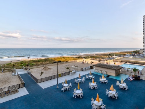 Sunrise View Oceanfront Condo w/ Private Beach Access, Pool, and Tennis Court